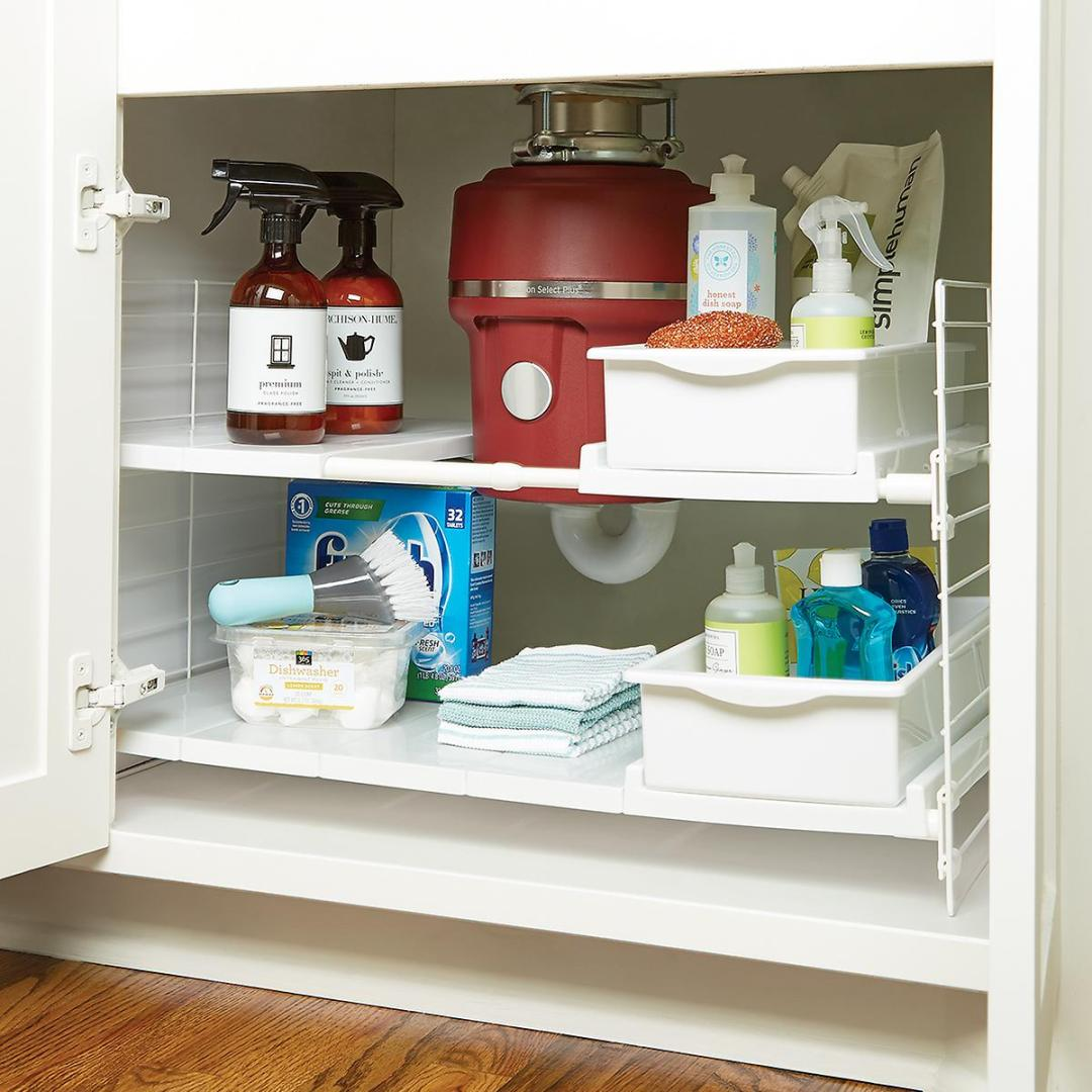 How to Organize The Kitchen Cabinets — Storage Tips for Cabinets
