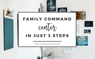 Family Command Center Tips
