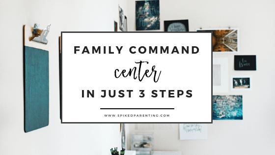 Family Command Center Tips