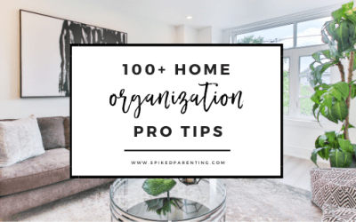 100+ Super Easy Home Organization Ideas