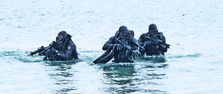 Navy SEALs training