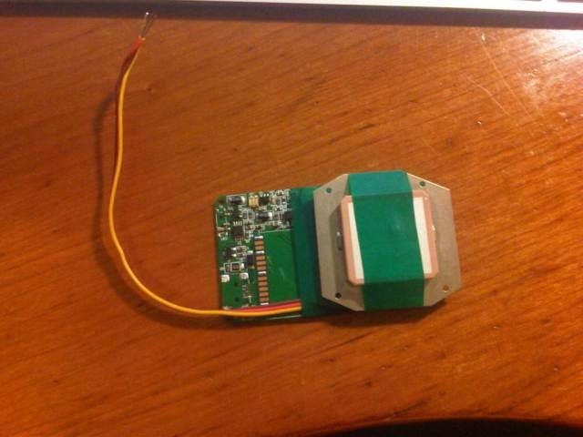 Salvaged GPS module