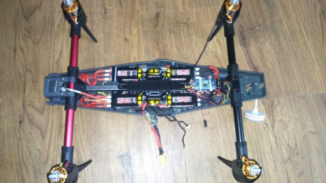 Venture FPV PDB with esc