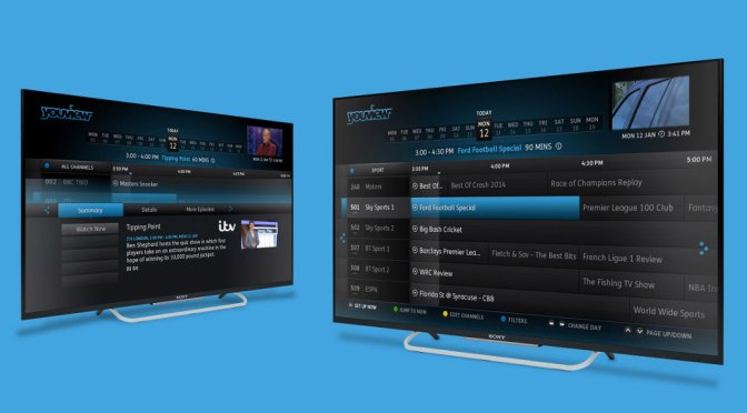 YouView – Smart TV UI