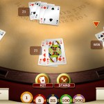 Blackjack online casino game