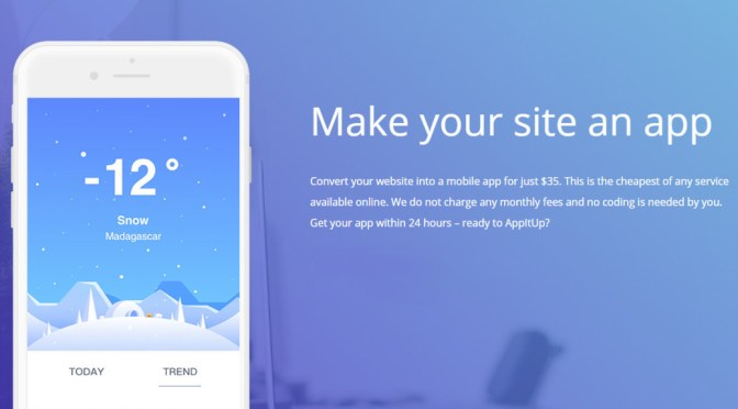 AppItUp - make your site into an app