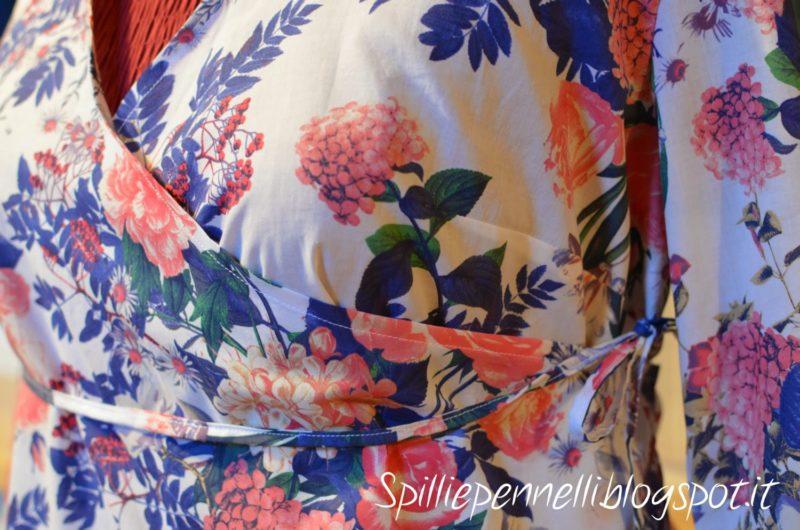Stampa floreale per la camicia in cotone