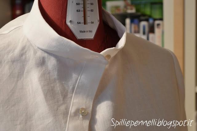 Camicia in puro lino, valorizzare il capo con la qualità del tessuto