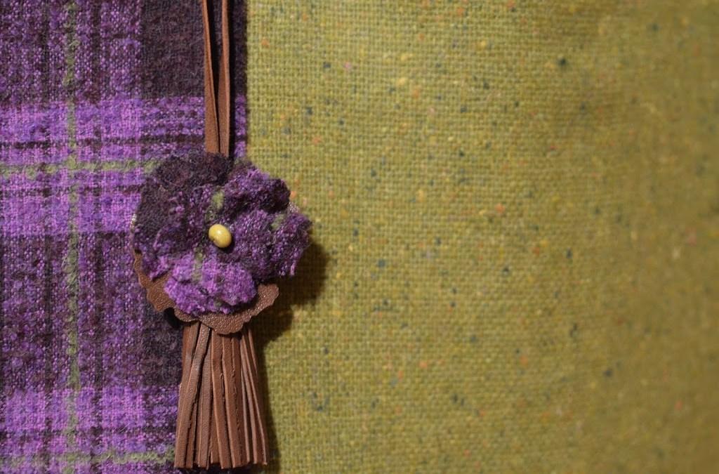Una borsa con i colori della primavera