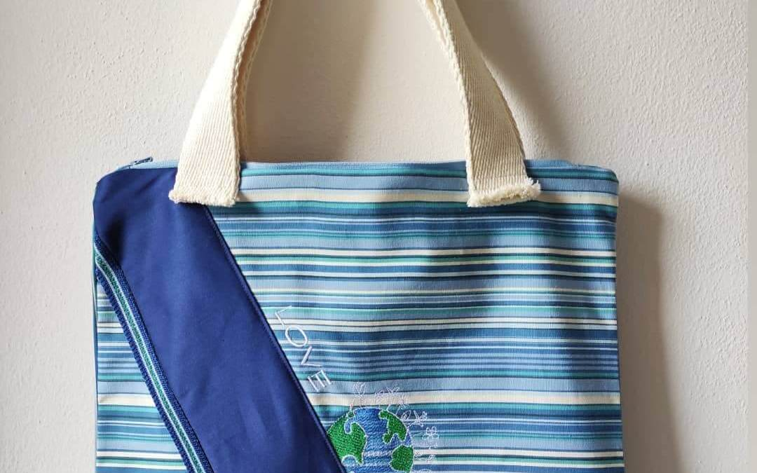La borsa ecologica ispirata all'Earthday