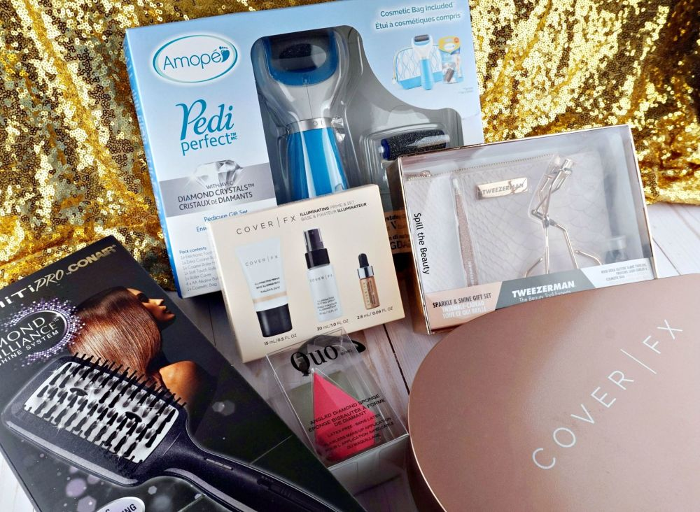 gifts that glow cover fx conair amope quo tweezerman gift guide