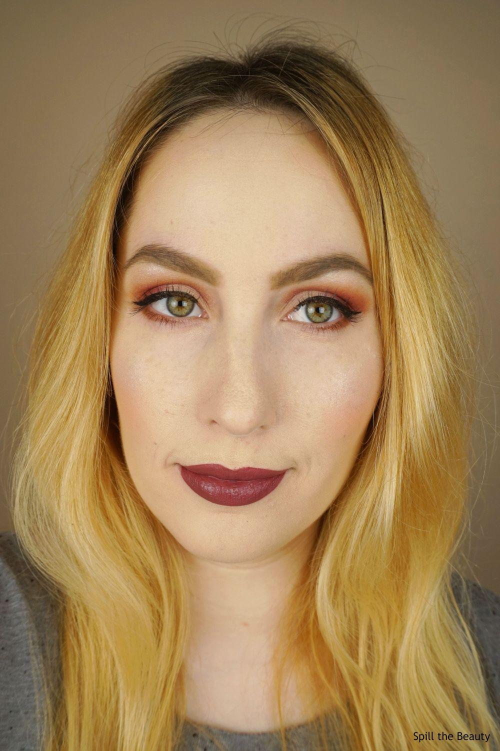 l'oreal infallible pro matte liquid lipstick plum bum swatches comparison dupe