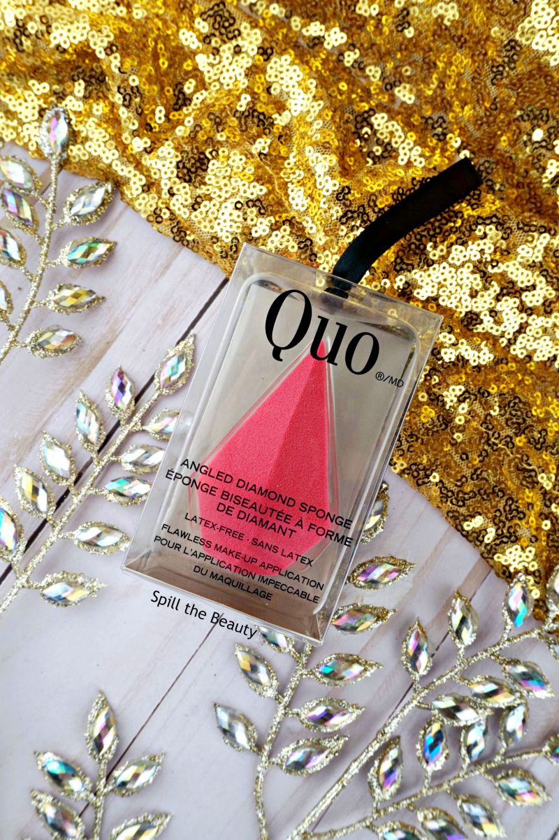 Quo angled diamond sponge gift guide