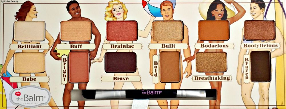 thebalm nude beach review swatches