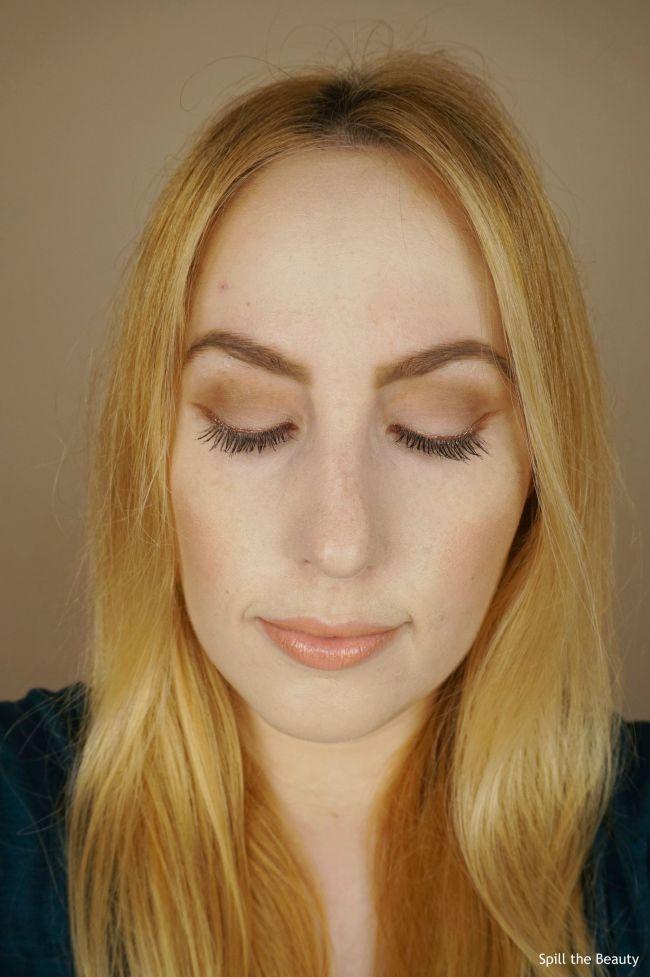 DIY rose gold eyeliner inglot duraline