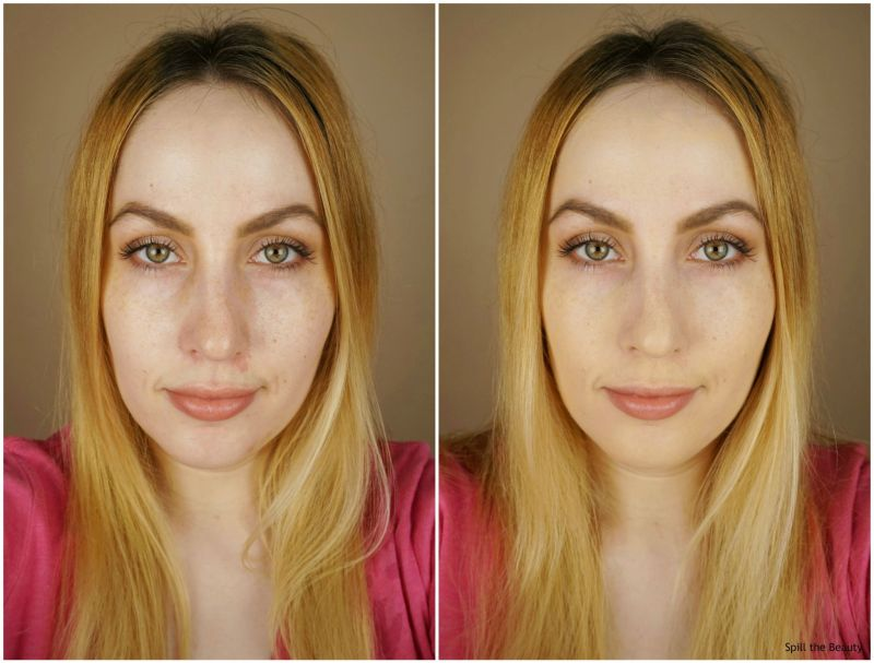 tarte shape tape matte foundation light neutral review swatches before and after