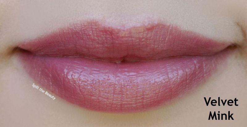 lip swatch revlon kiss plumping lip creme lip gloss velvet mink comparison dupe