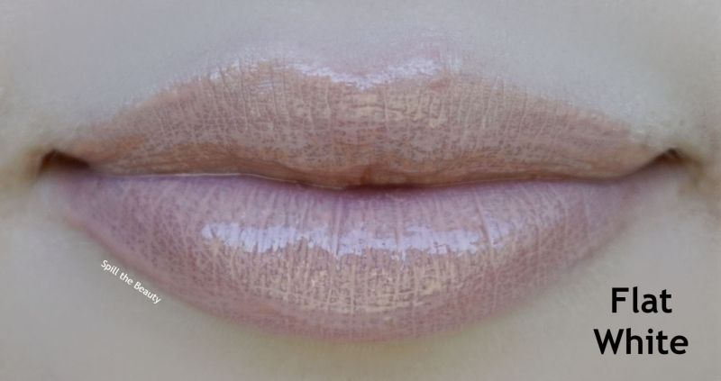bite beauty french press lip gloss review swatches flat white