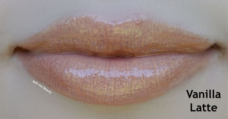 bite beauty french press lip gloss review swatches vanilla latte