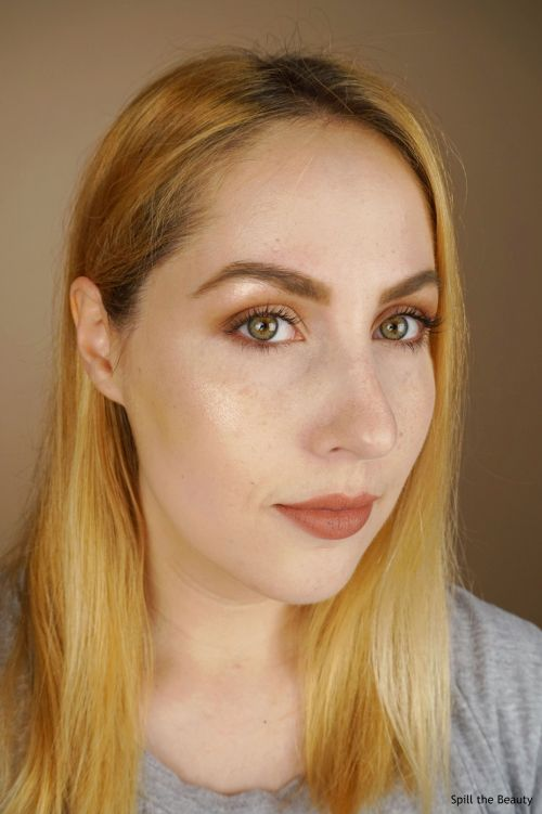 maybelline master chrome metallic highlighter molten rose gold review swatches comparison dupe