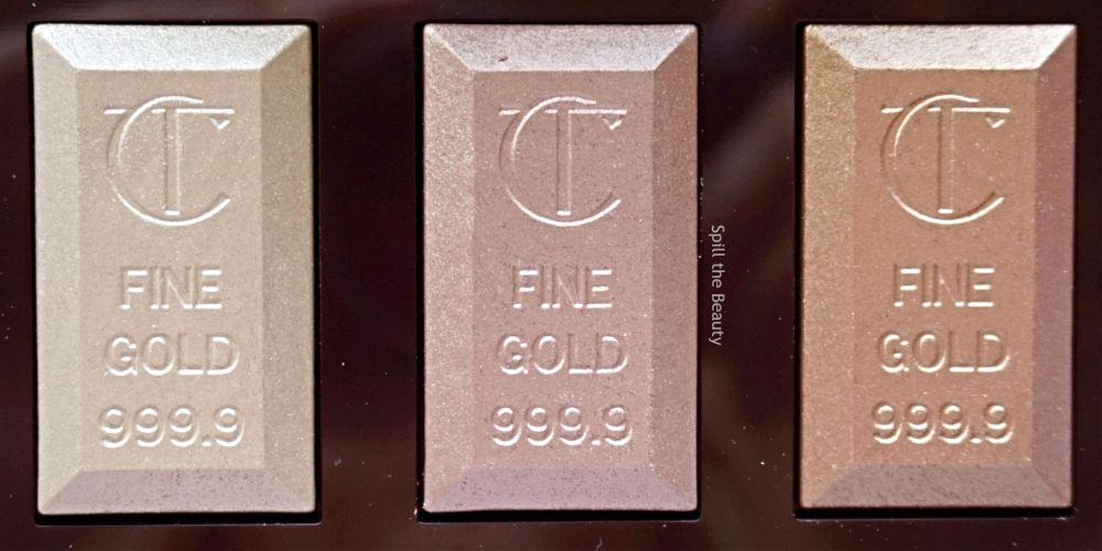 """Charlotte Tilbury """"Bar of Gold Palette"""" – Review, Swatches & Looks"""