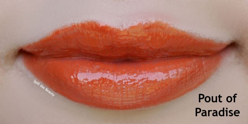 wet n wild flights of fancy lip gloss review swatches pout of paradise