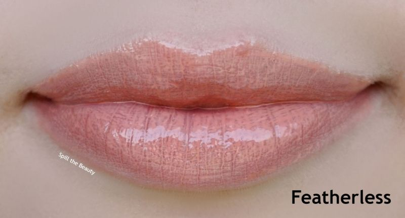 wet n wild flights of fancy lip gloss review swatches featherless