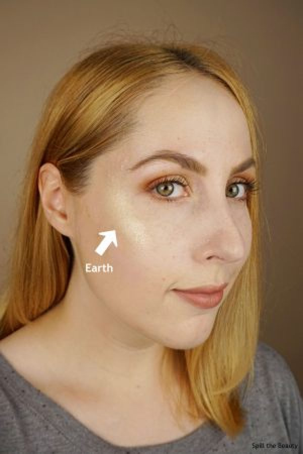 wet n wild zodiac collection highlighters review swatches earth