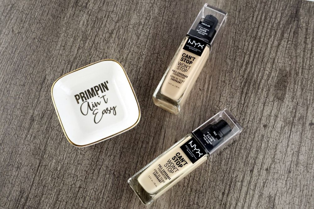 NYX Can't Stop Won't Stop Foundation – Review, Swatches, Before & After