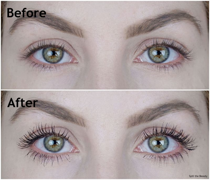 nars climax mascara review before and after