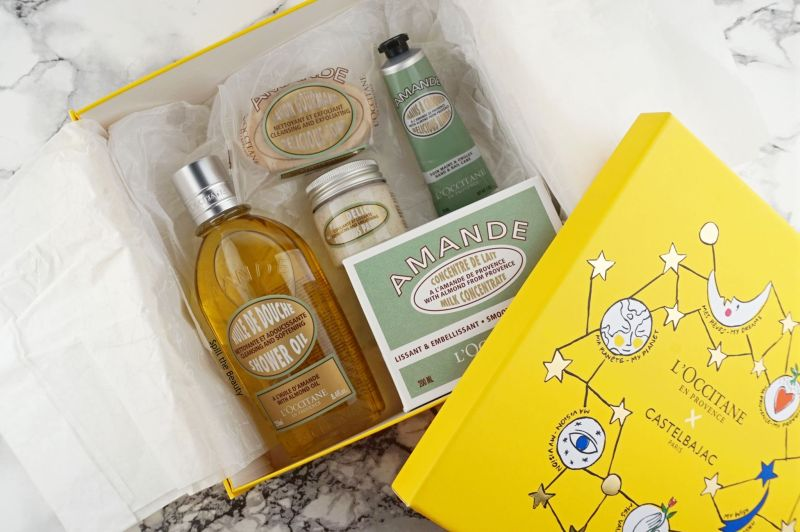gift guide sweet treats loccitane almond set