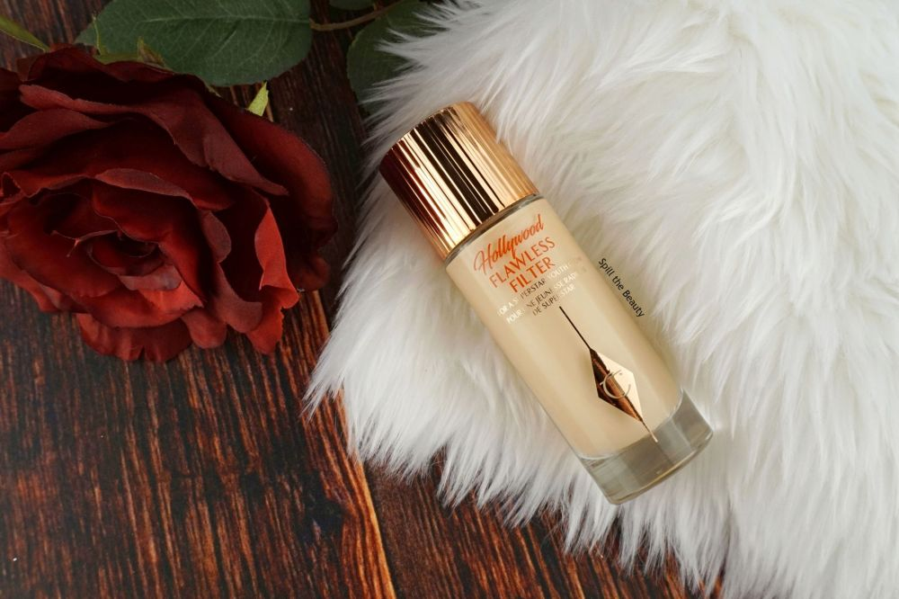 Charlotte Tilbury Hollywood Flawless Filter – Review, Swatches and Look