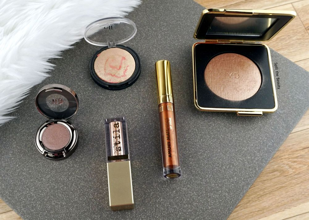 Top 5: Metallic Makeup