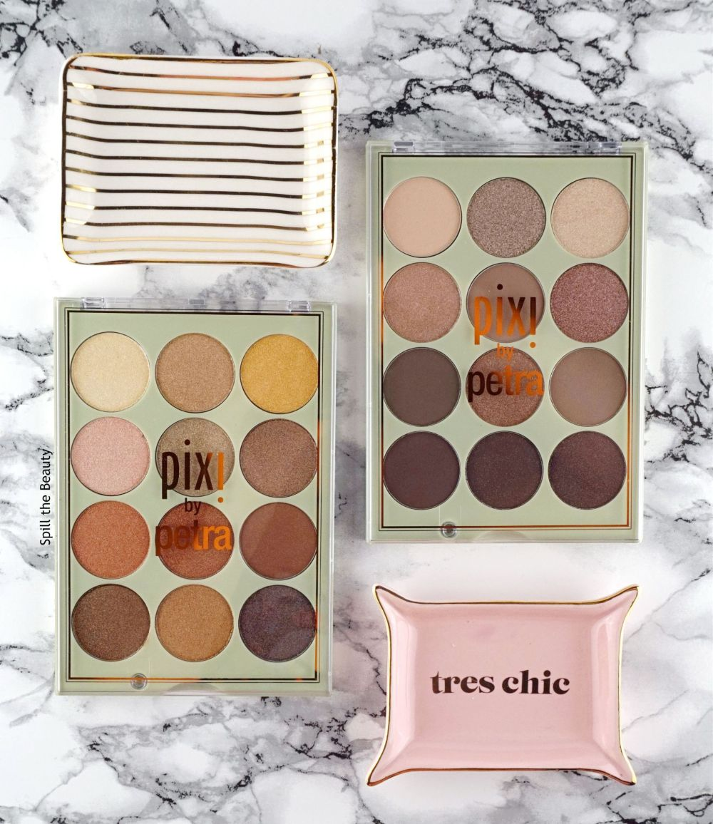 Pixi Beauty Eye Reflection Shadow Palettes – Review, Swatches and Looks