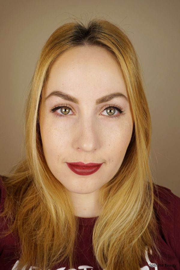 burberry oxblood lipstick swatches comparison dupe