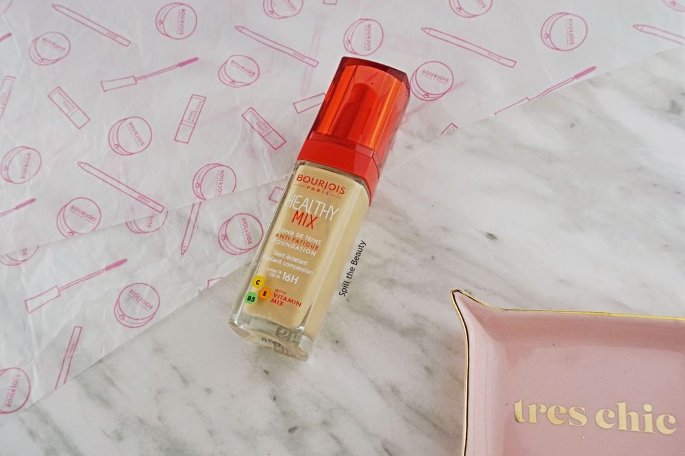 Bourjois Healthy Mix Anti-Fatigue Foundation – Review, Swatches, Before and After