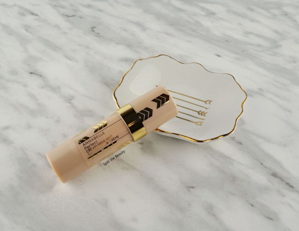 """Annabelle Perfect Cream Highlight """"Light Champagne"""" – Review, Swatches and Look"""