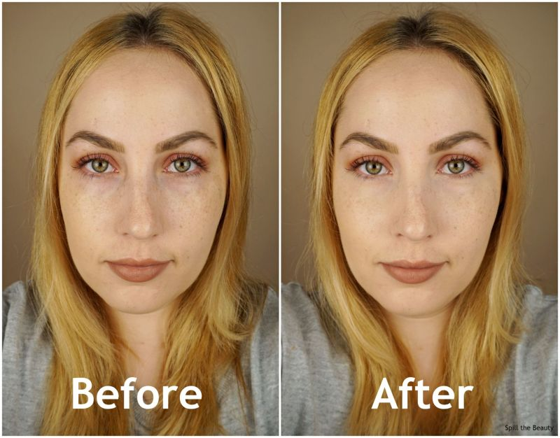 revolution concealer c4 review swatches before and after