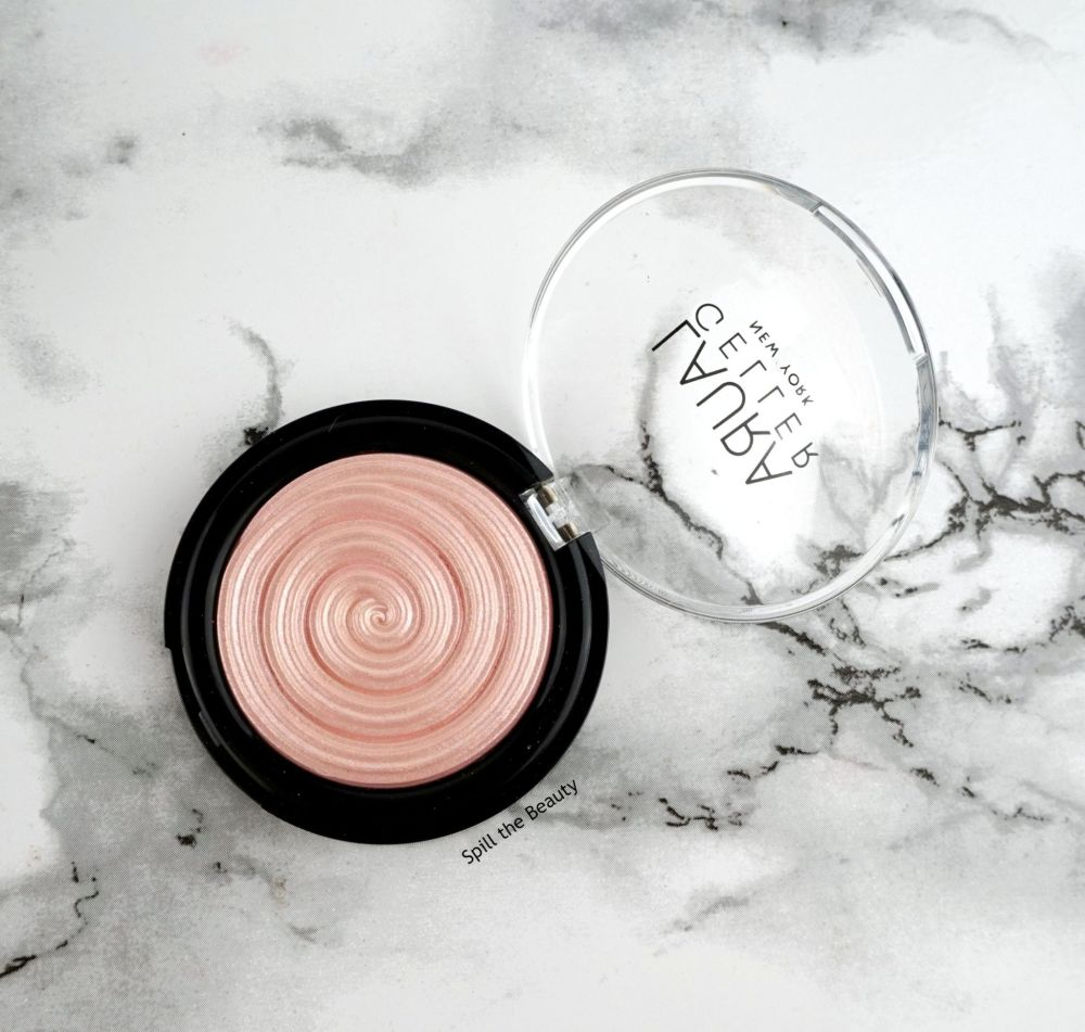 "Laura Geller Baked Gelato Swirl ""Charming Pink"" – Review, Swatches and Look"