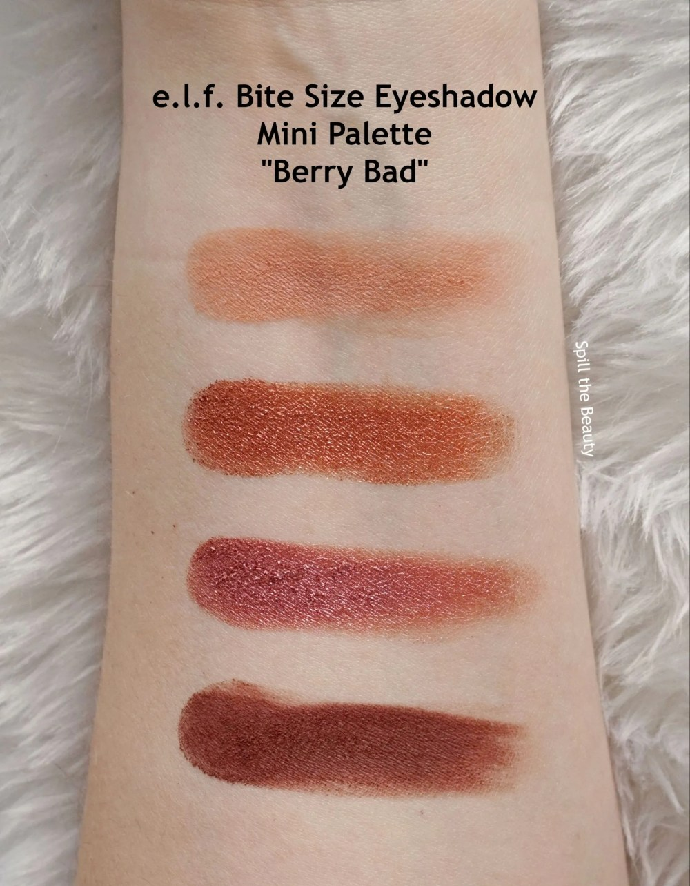 elf berry bad eyeshadow swatches