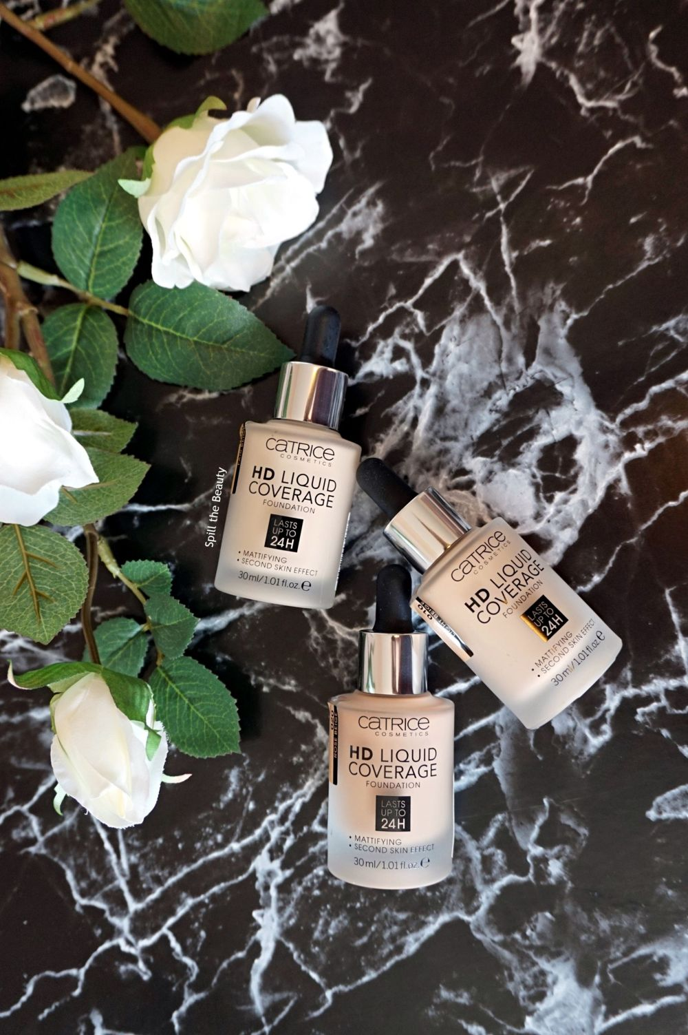 catrice hd liquid coverage foundation review swatches light beige