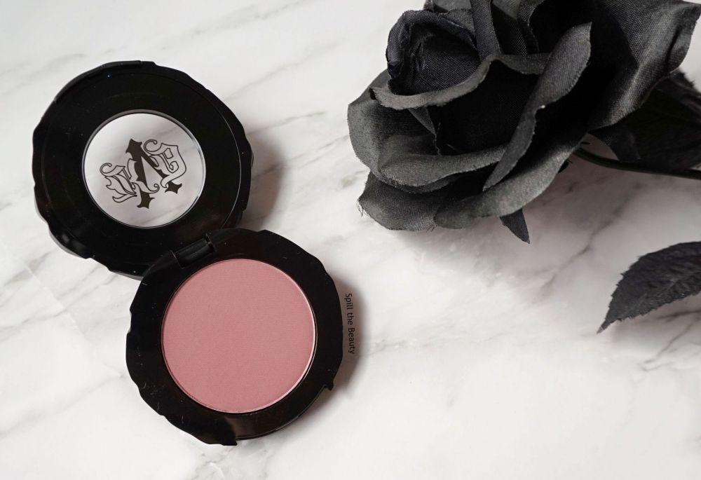 kvd blush rosebud review swatches