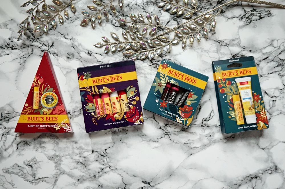 stocking stuffers 2020 burts bees holiday sets