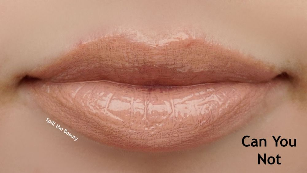 dose can you not lip gloss swatch