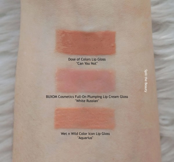 buxom gloss white russian swatches
