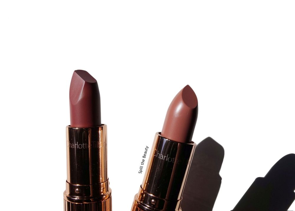 Charlotte Tilbury Super Nudes Lipsticks – Review and Swatches