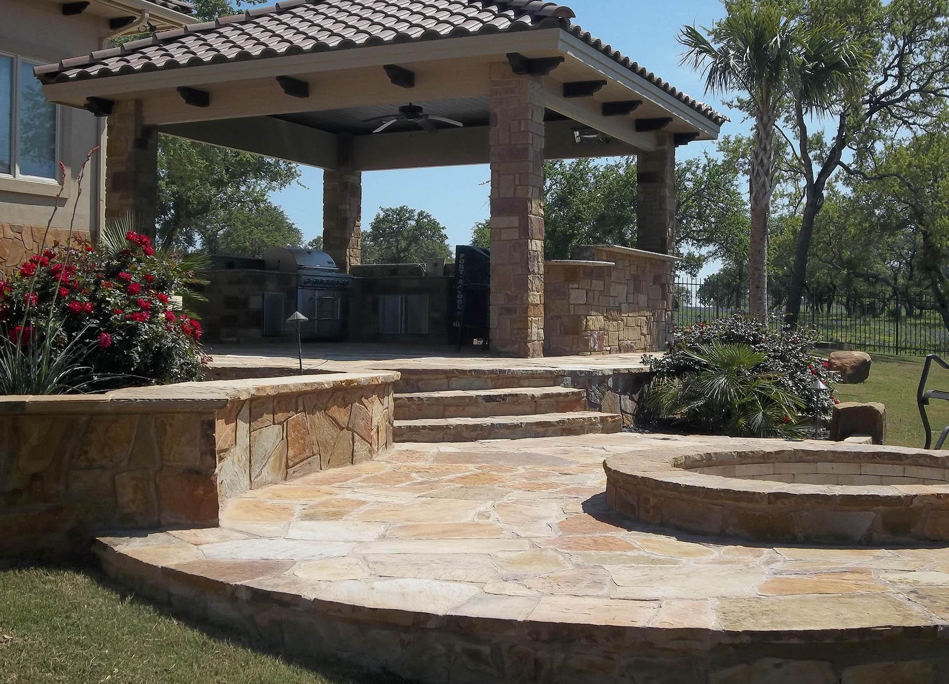 Patios Outdoor Kitchen Fireplaces Pool Decks Austin Tx