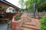 Recycled Brick Steps