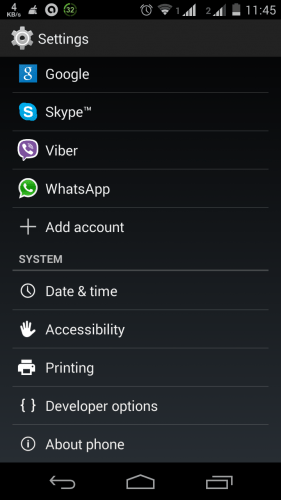 Phone Security Application