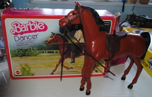 Barbie's first pet was a horse called Dancer